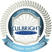 Fulbright Top Producer Badge 2015-16